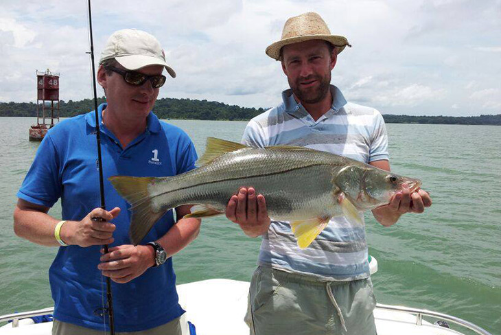 Panama Canal Fishing