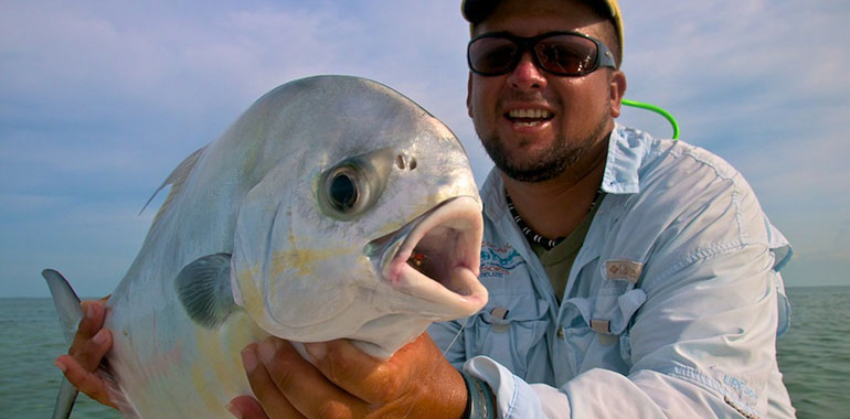 Permit Fishing Belize