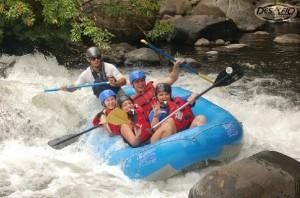 White Water Rafting, Costa Rica