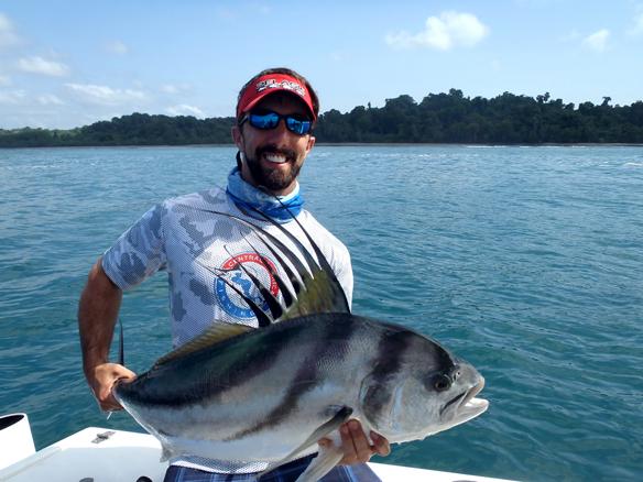 roosterfish coiba island, panama