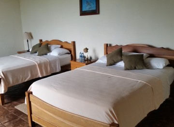 Deluxe Rooms at the Paradise Fishing Lodge in Panama