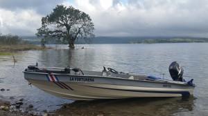 Lake Arenal fishing boat