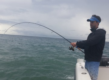 Bending the Inshore Travel Rod!