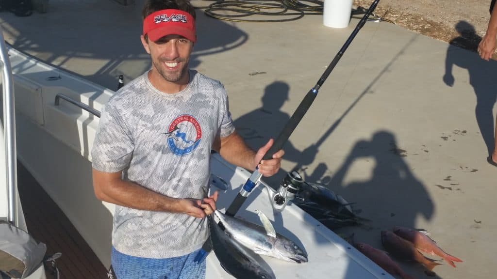Fishing tournament in Belize with Okuma Nomad Travel Rod