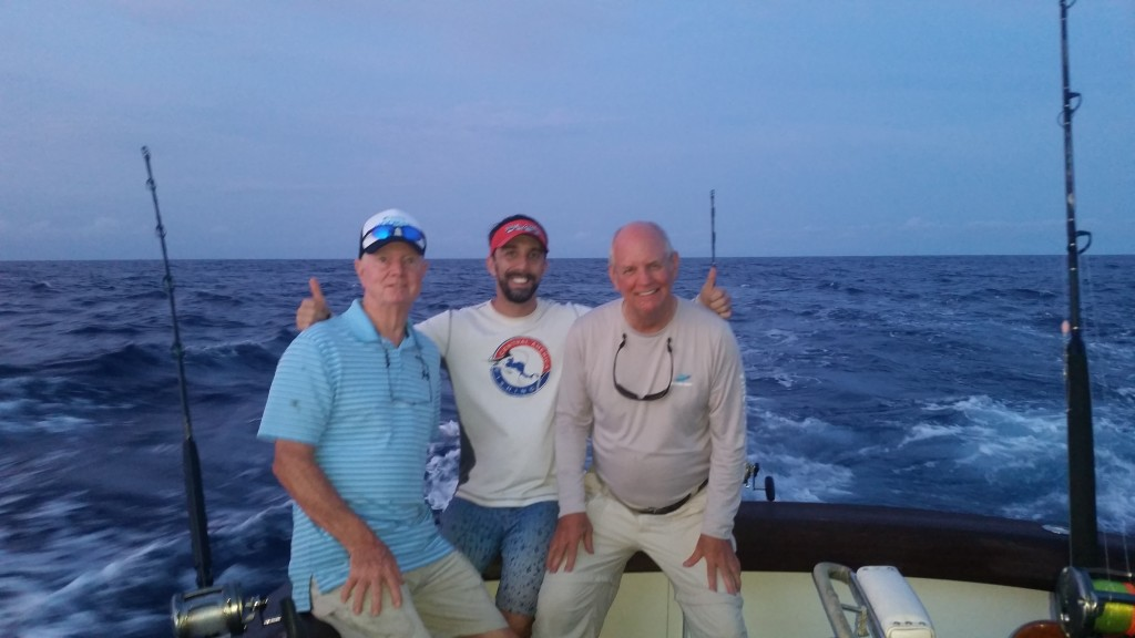Marlin fishing at the FADs