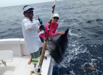 Costa Rica Sailfishing