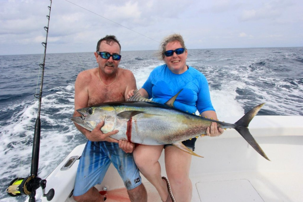 Quepos sport fishing