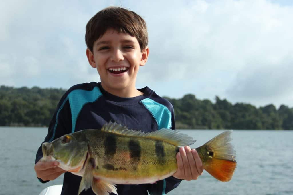 Panama freshwater fishing