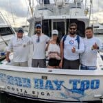Costa Rica charter fishing boat