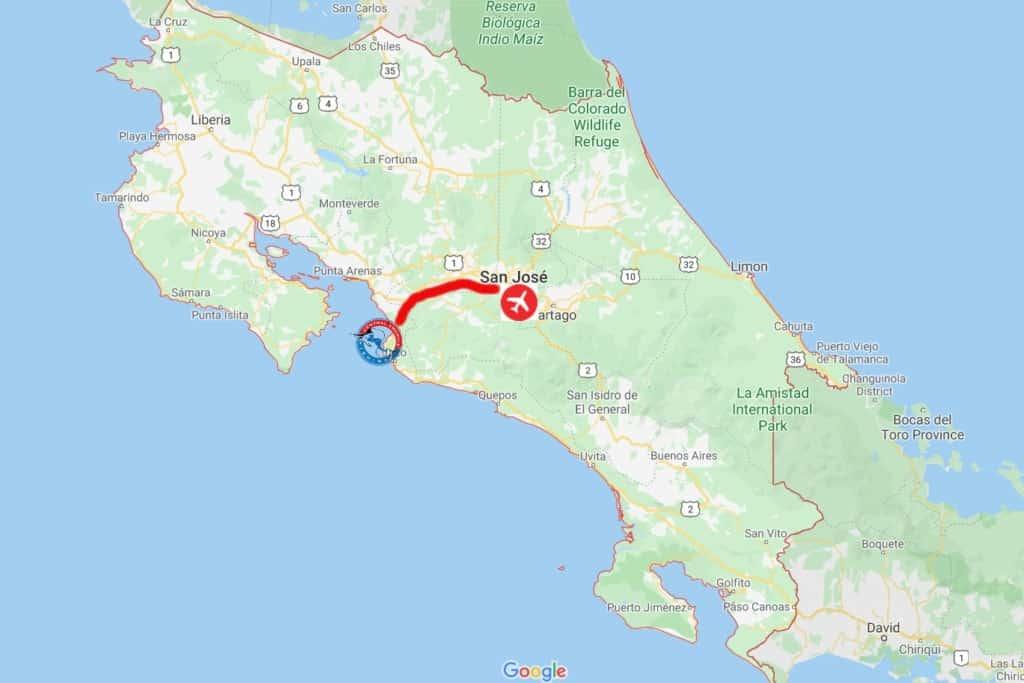 Los Suenos, Costa Rica Map