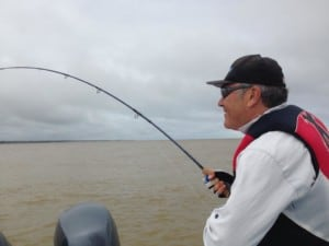 Fly fishing for tarpon in Costa Rica