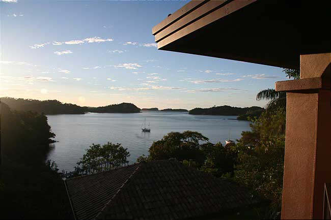Panama fishing resort