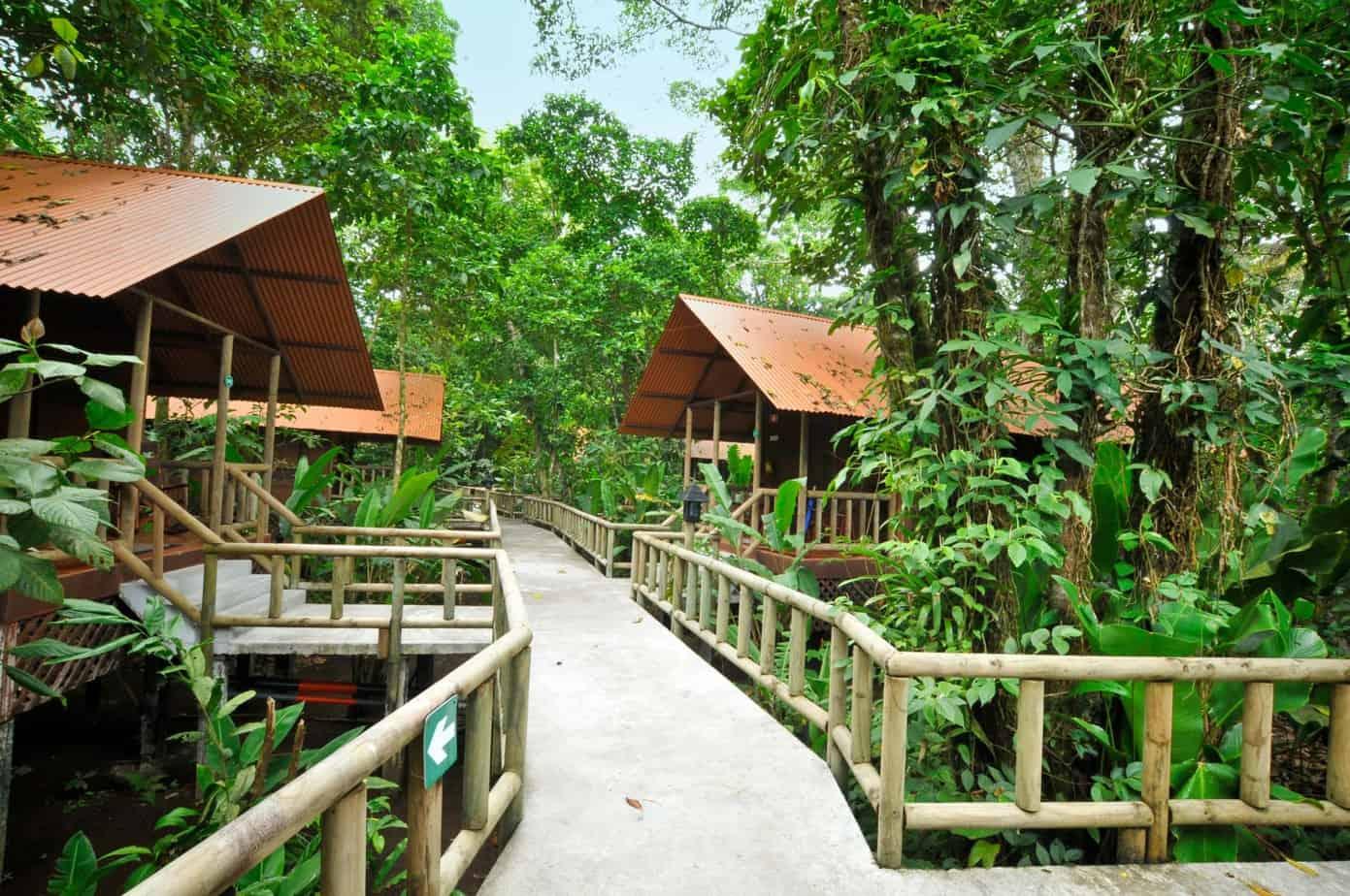 Tarpon Fishing Lodge on Costa Rica's Caribbean Coast