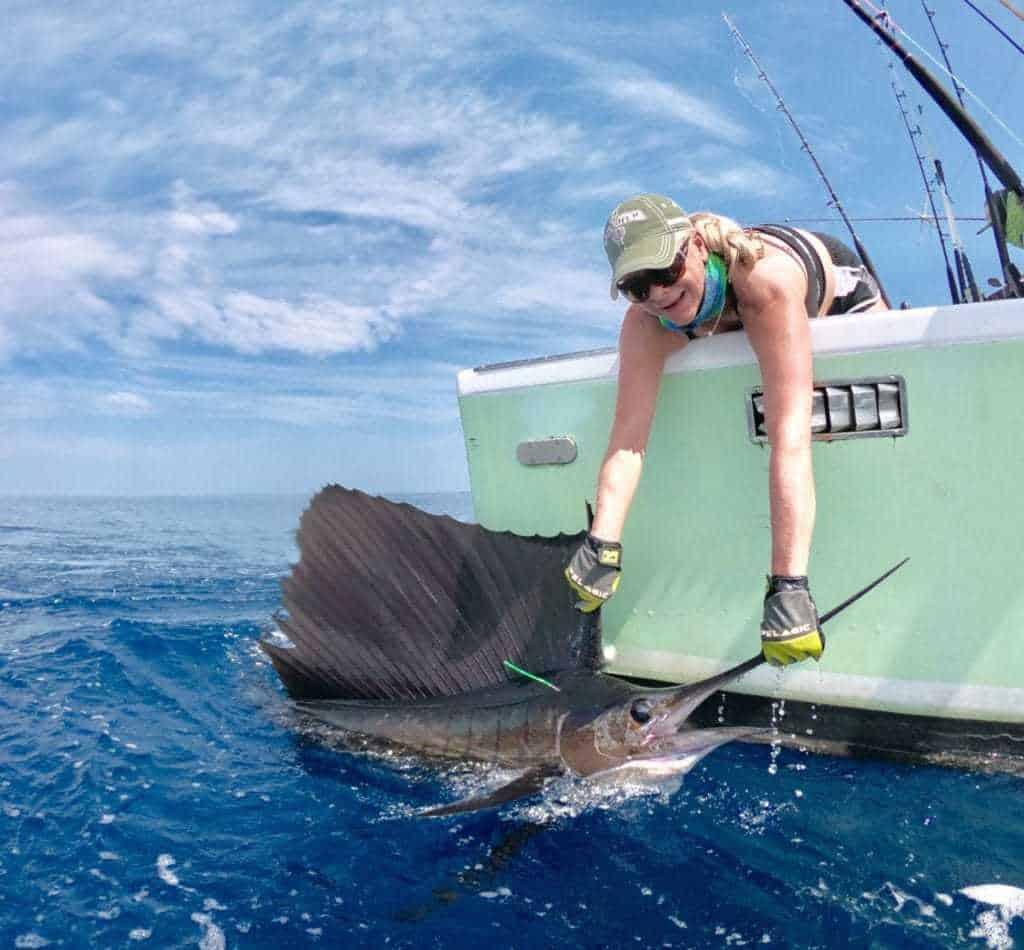 Offshore fishing Quepos