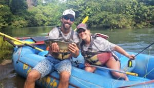 fly fishing for machaca