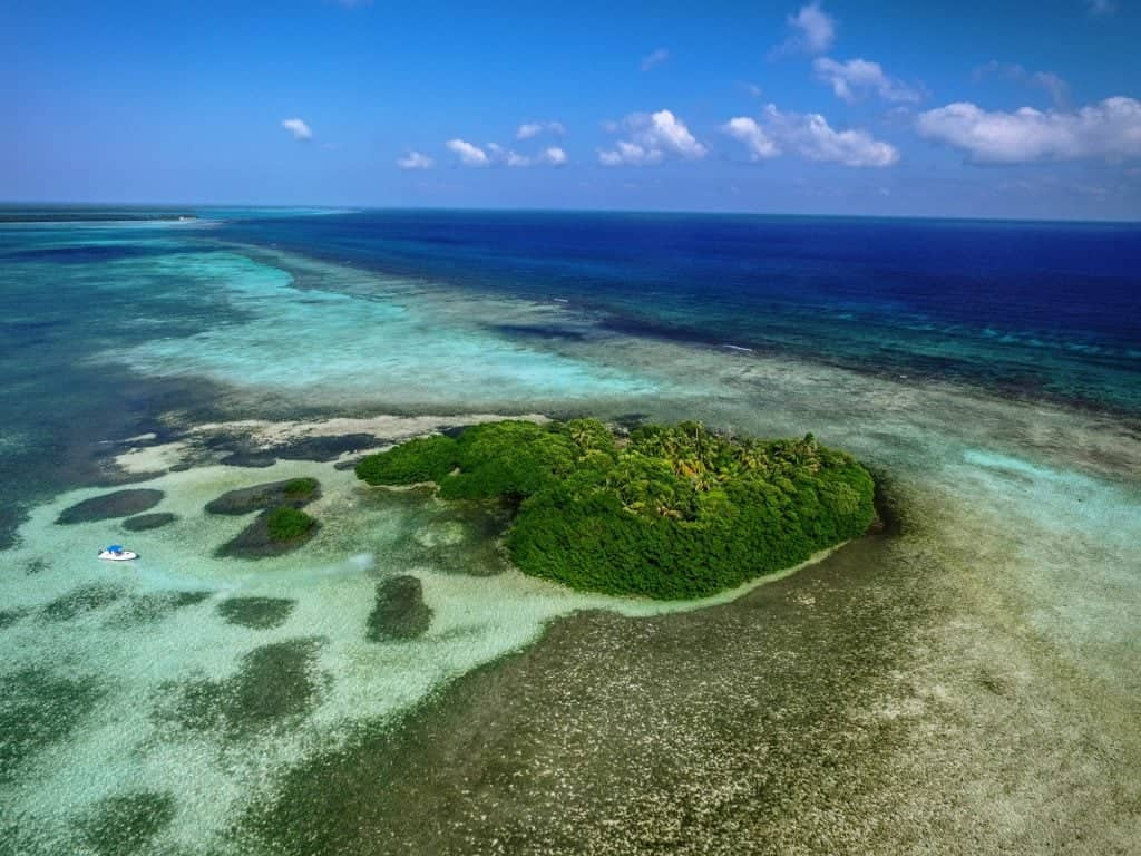 Inshore fishing in Belize