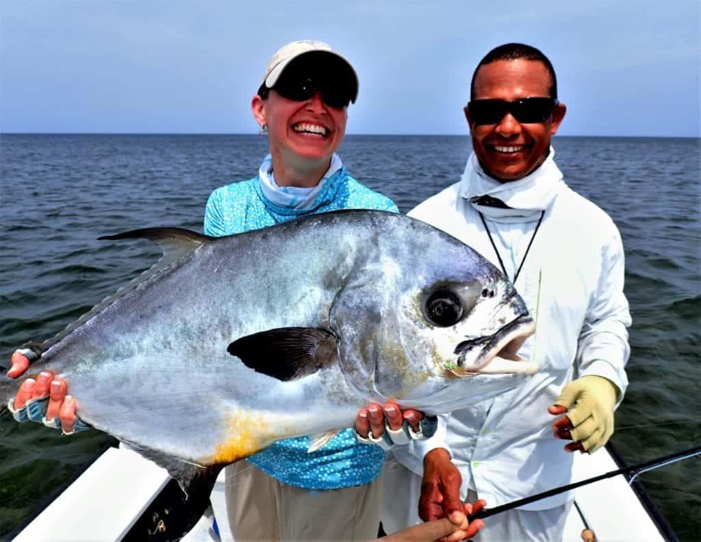 permit fishing in Belize