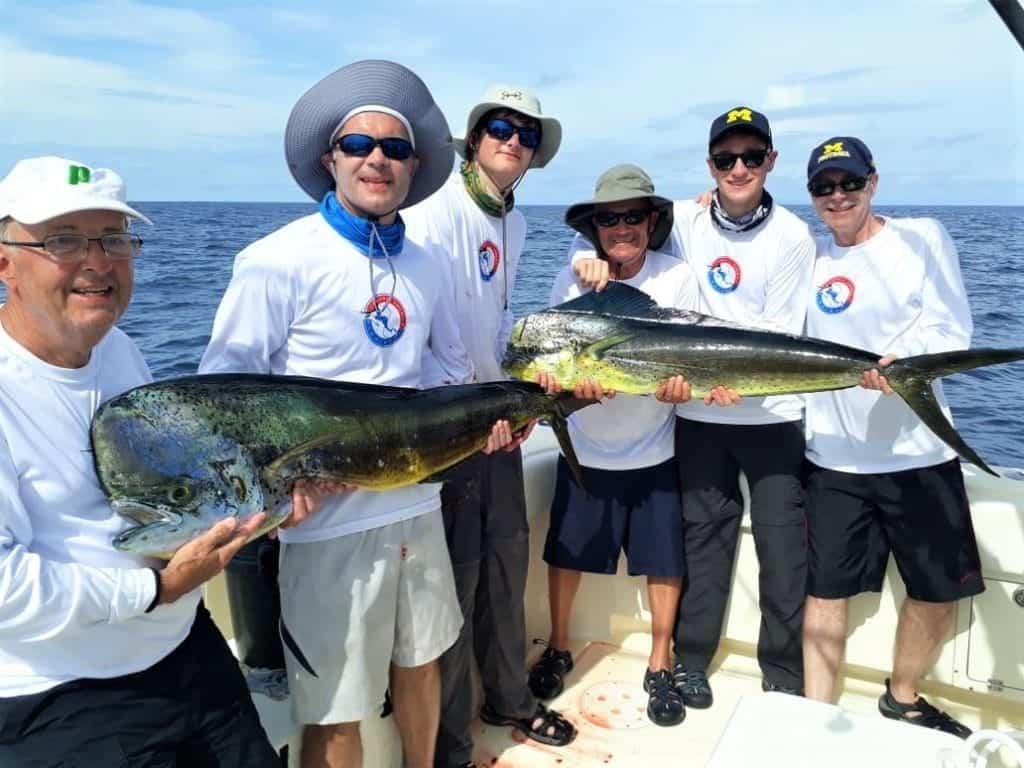 dorado fishing in Panama