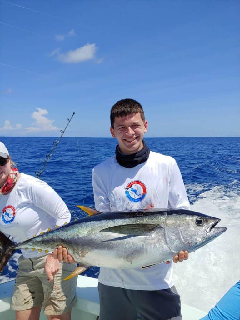 costa rica fishing vacation