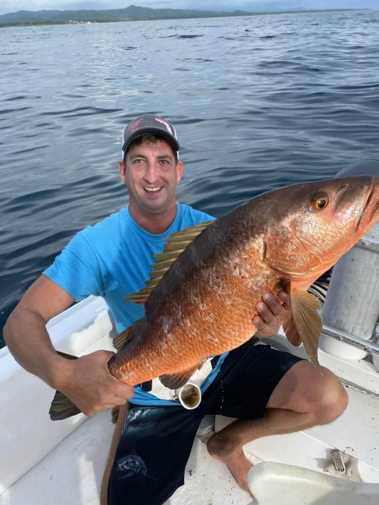 Inshore fishing in Tamarindo